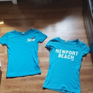 Hollister t shirts bundle